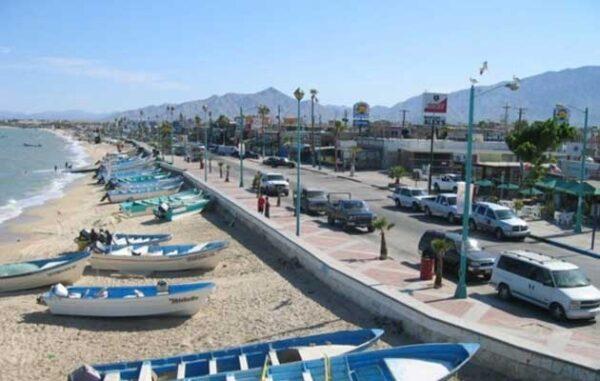 Malecon San Felipe Baja California Mexico