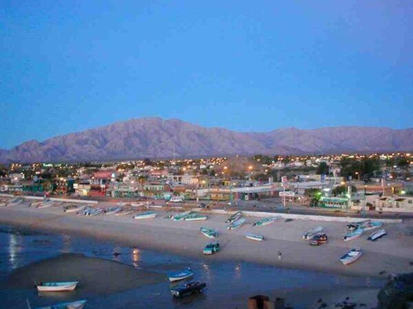 San Felipe Beach by the Sea of Cortez Baja California Mexico