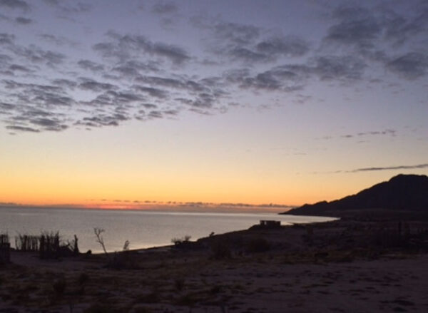 Tent Camping Playa Hawaii Baja California Mexico